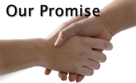 Our Promise & Gaurantees